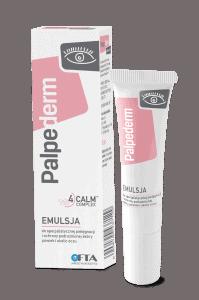 Palpederm krem do pielęgnacji i ochrony podrażnionych, suchych oczu z objawami alergii